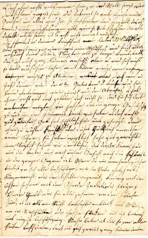 Sophie Engelmann to Margarethe Hilgard, December 10, 1833, p. 3