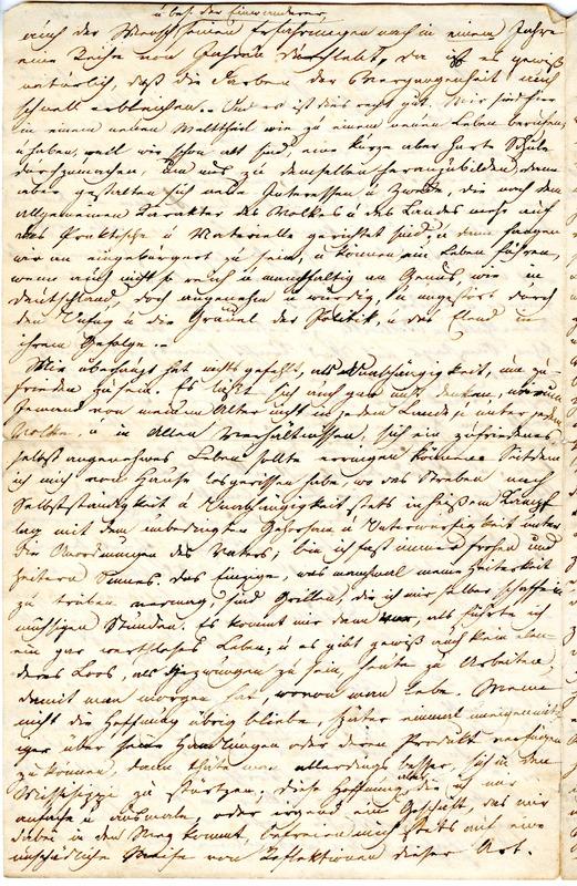 Theodor Engelmann to Margarethe Hilgard, January 20, 1836, p. 2