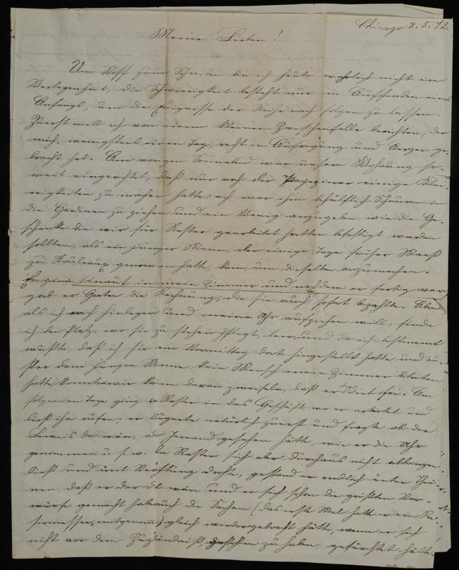 Raster family letter, May 8, 1872