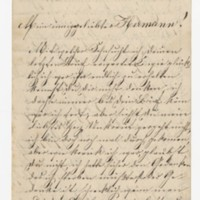 Therese Winhold to Hermann Crede, August 23, 1886, page 1