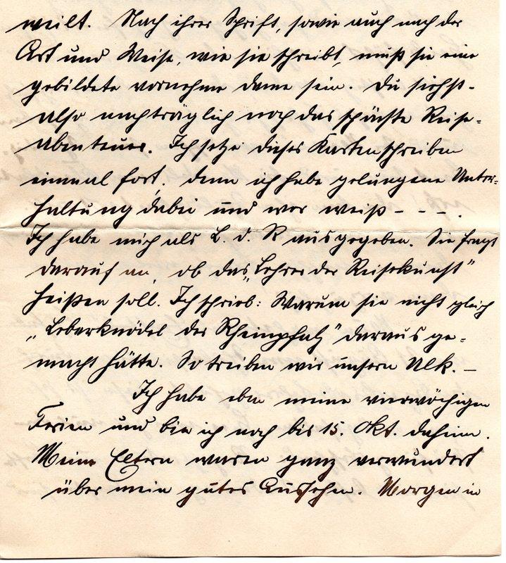 Eugen Haas to Eugen Klee, September 23, 1911, page 4
