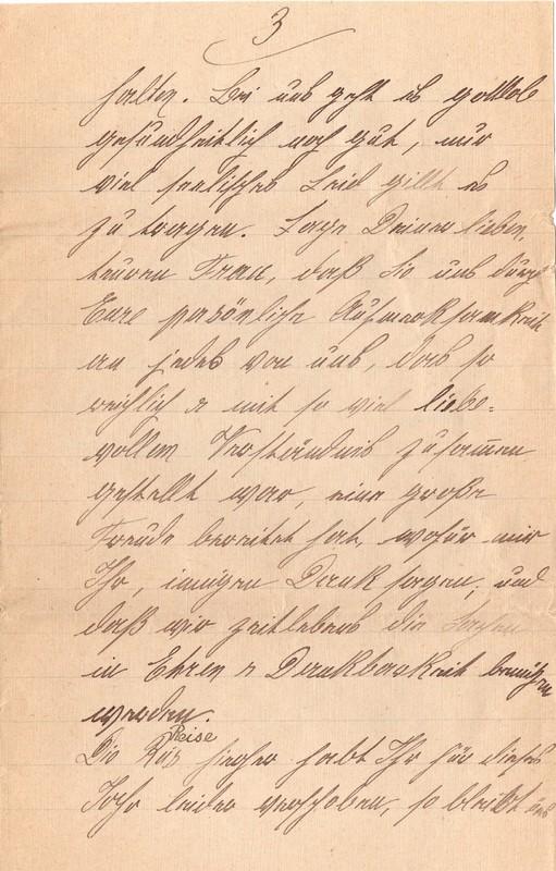 Mathilde Rettig and Heinrich Rettig to Eugen Klee, September 12, 1920, p. 9