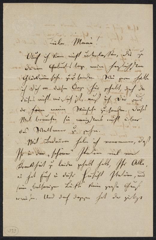 Peter Hansen to Marie Hansen Taylor, May 27, 1868, p. 1