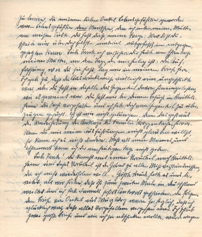 Eugen Haas to Eugen Klee, May 10, 1925, p. 4