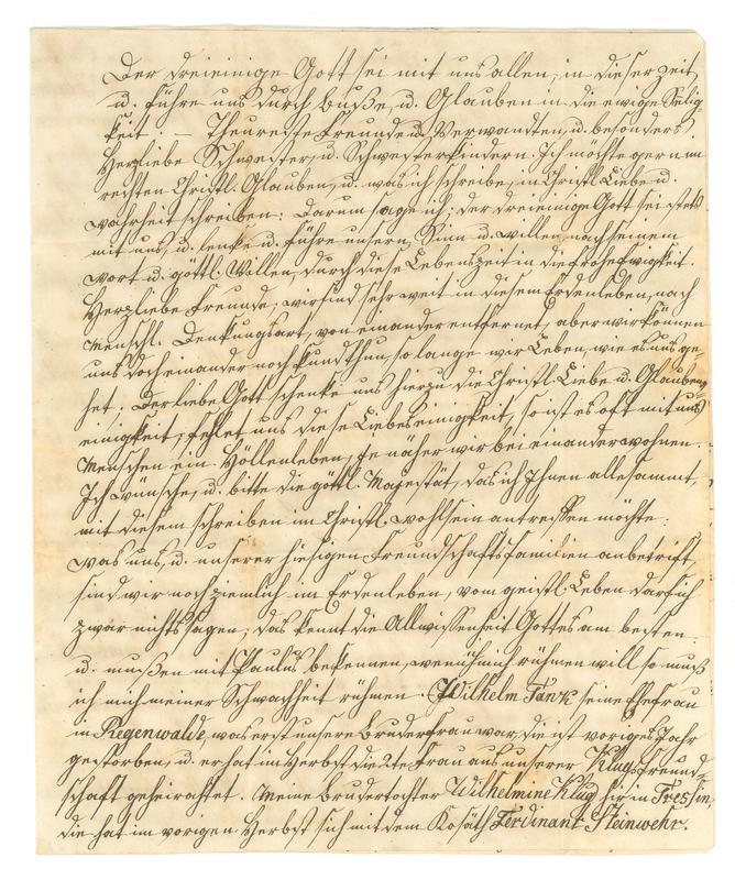 C.J. Gottlieb Klug to Carl Christian Dobberpuhl, April 22, 1851