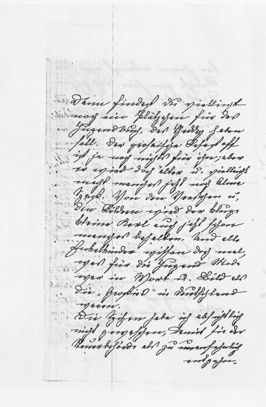 Benecke family letter, October 1, 1907, page 3