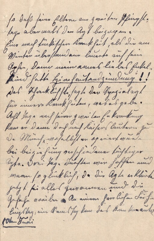 Lenchen Cherdron to Eugen Klee, July 14, 1922, p. 5