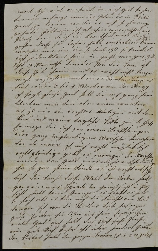 Höfeln family letter, November 14, 1869, page 2