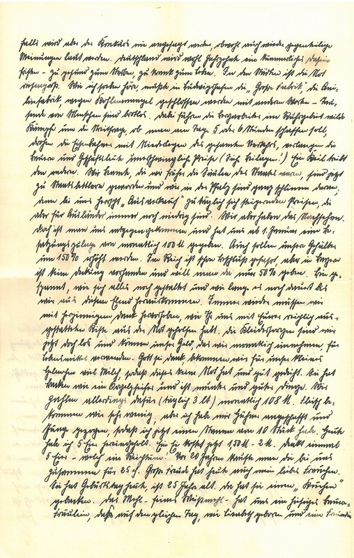 Eugen and Lisbeth Haas to Eugen Klee, January 27, 1920, p. 2