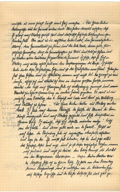 Eugen Haas to Eugen Klee, July 31, 1927, p. 3