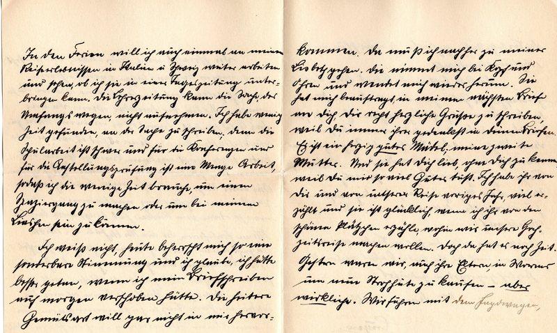 Eugen Haas to Eugen Klee, April 28, 1912, page 5