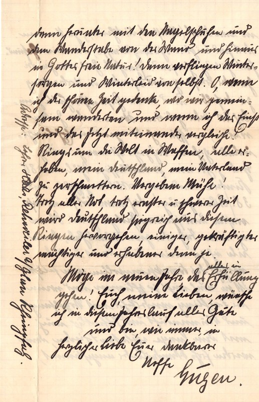 Eugen Haas to Eugen Klee, January 7, 1916, page 3