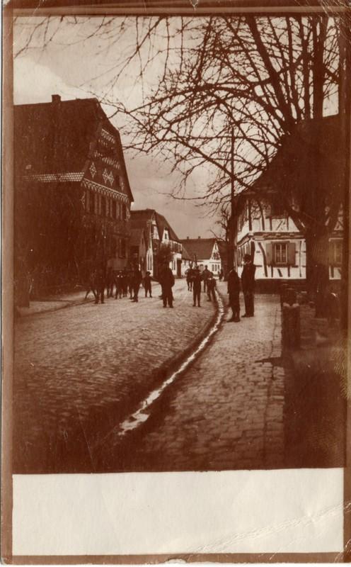 Eugen Haas to Eugen and Emma Klee, July 5, 1919, postcard #5 (front)