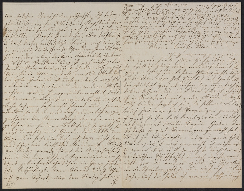 Lina Hansen to Marie Taylor, October 27, 1870