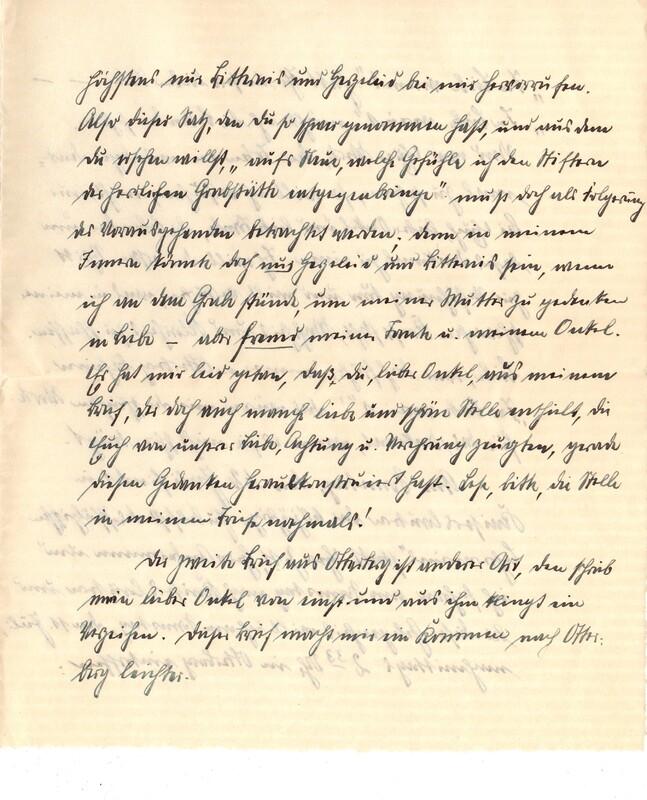 Eugen Haas to Eugen Klee, July 7, 1925, p. 2