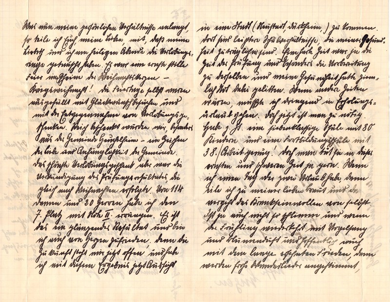 Eugen Haas to Eugen Klee, January 7, 1916, page 2