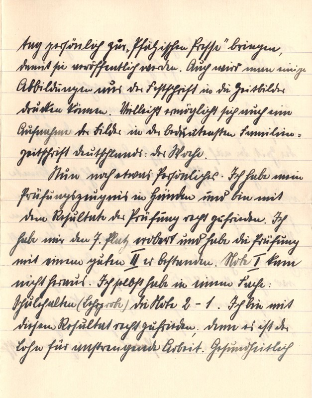 Eugen Haas to Eugen Klee, January 29, 1916, page 4