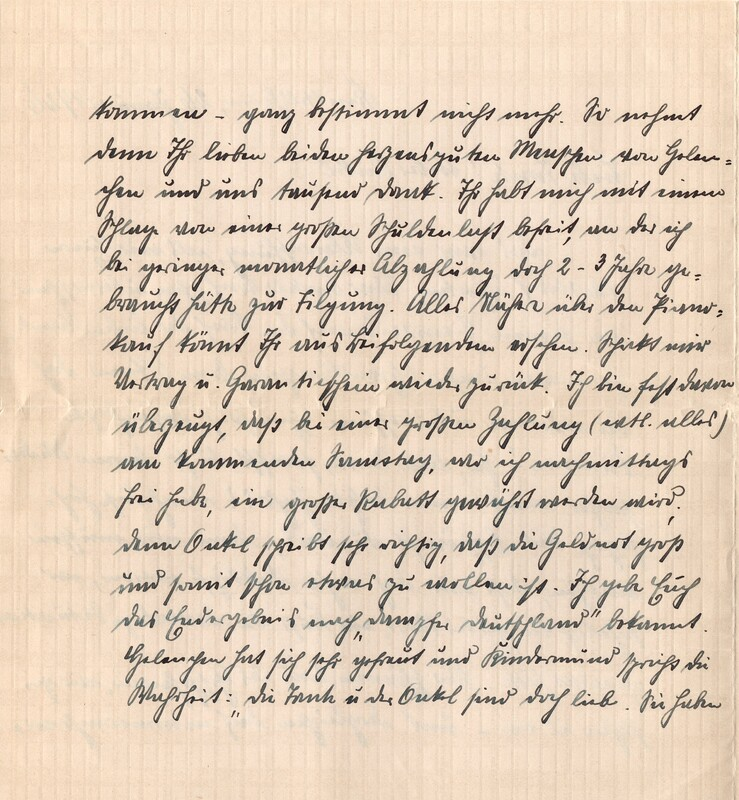 Eugen and Lisbeth Haas to Eugen Klee, January 26, 1926, p. 2