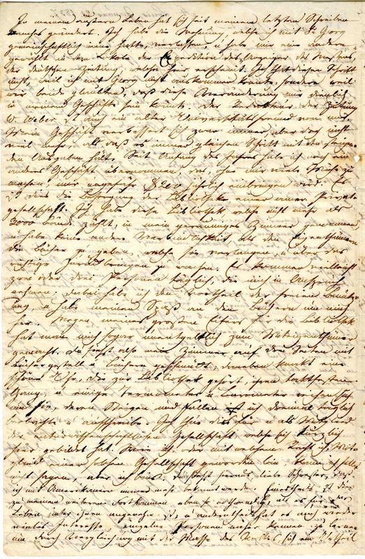 Theodor Engelmann to Margarethe Hilgard, January 21, 1837, p. 2