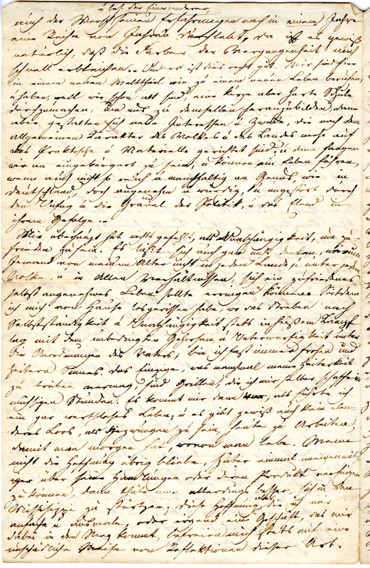 Theodor Engelmann to Margarethe Hilgard, January 20, 1836, p. 2