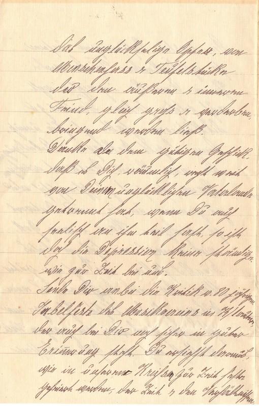 Mathilde Rettig to Eugen Klee, February 6, 1921, p. 8