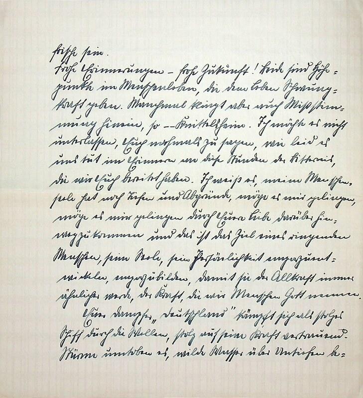 Eugen Haas to Eugen Klee, Feb. 8, 1926, p. 4