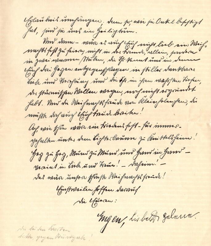 Eugen and Lisbeth Haas to Eugen Klee, December 10, 1925, p. 7