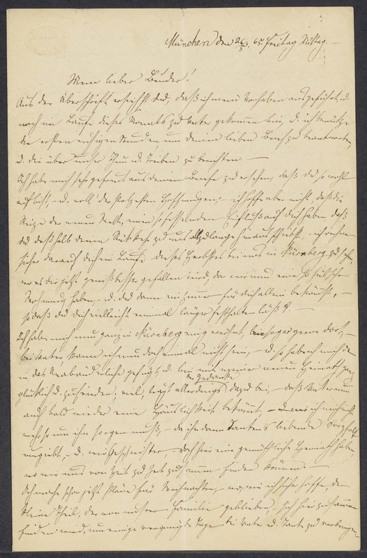Gustav Hilgard to Henry Villard, May 26, 1865