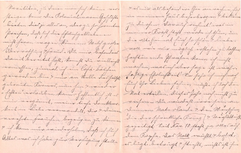Fritz W. Berdel to Eugen Klee, July 6, 1920, p. 2 and p. 3