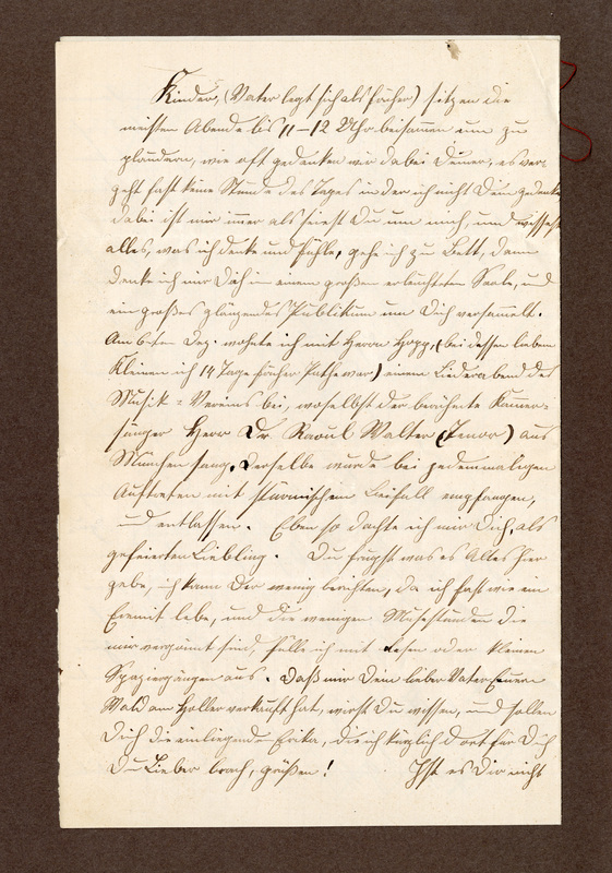 Lenchen Cherdron to Eugen Klee, December 26, 1894, p. 6