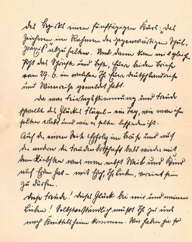 Eugen and Lisbeth Haas to Eugen Klee, July 17, 1928, p. 2
