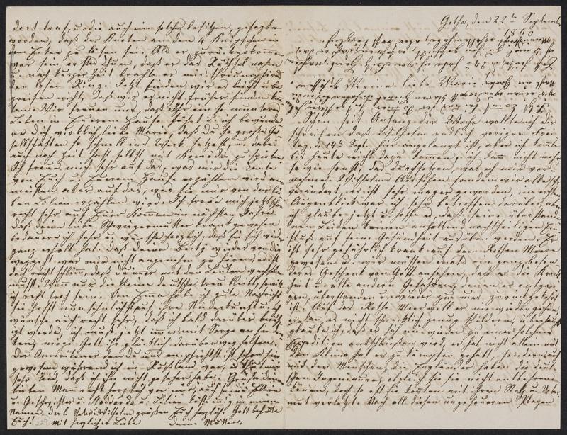 Lina Hansen to Marie Hansen Taylor, September 22, 1860