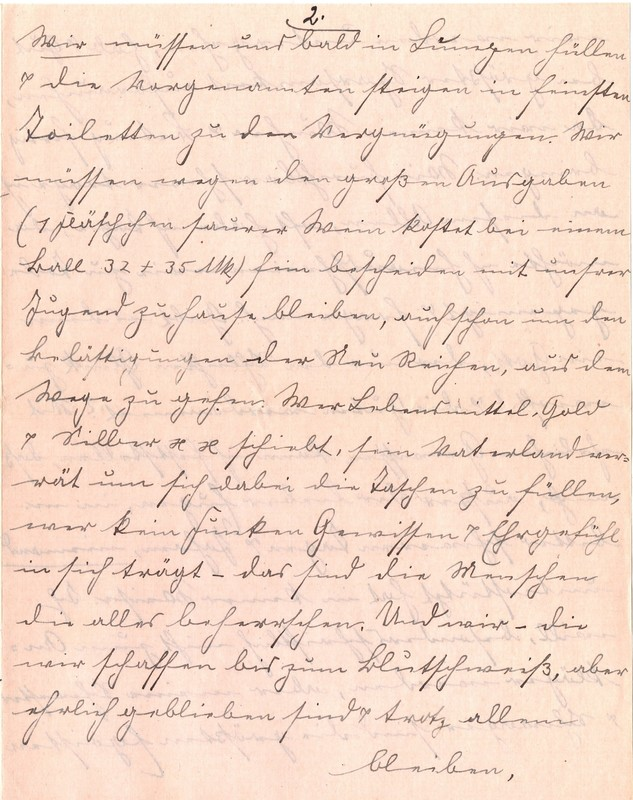 Fritz W. Berdel to Eugen Klee, July 6, 1920, p. 5