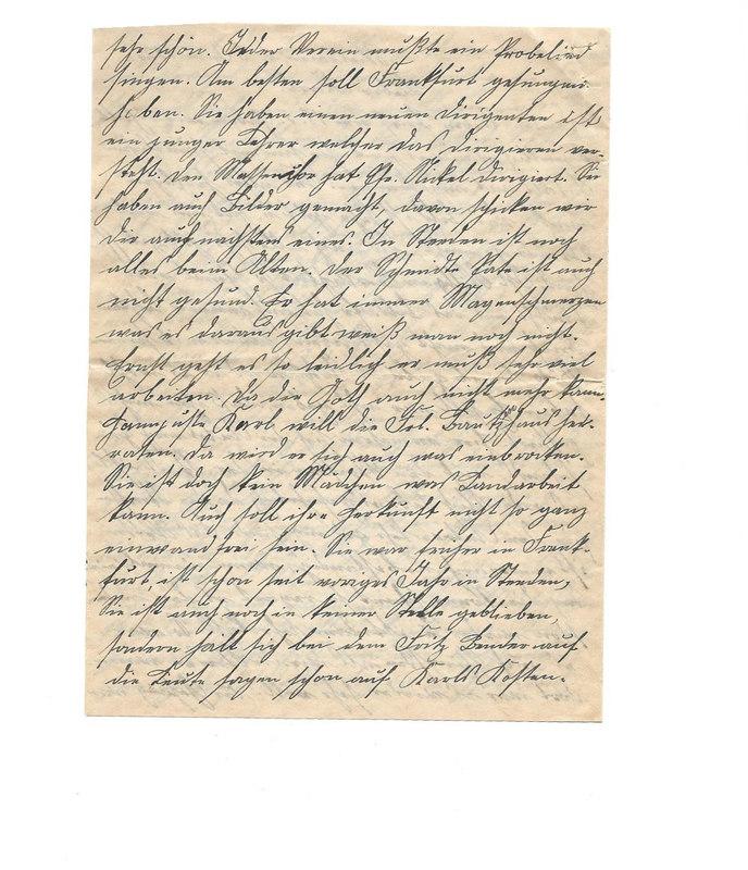 Johanna Emmel to Karl Emmel, June 8, 1926, p. 2