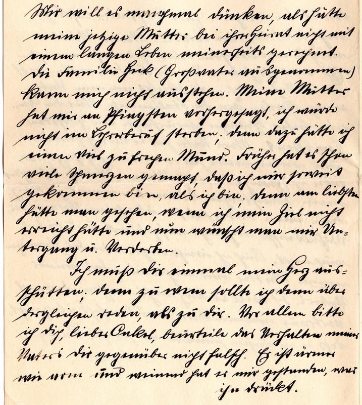Eugen Haas to Eugen Klee, April 28, 1912, page 3