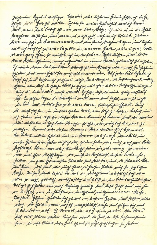 Eugen and Lisbeth Haas to Eugen Klee, May 30, 1920, p. 2
