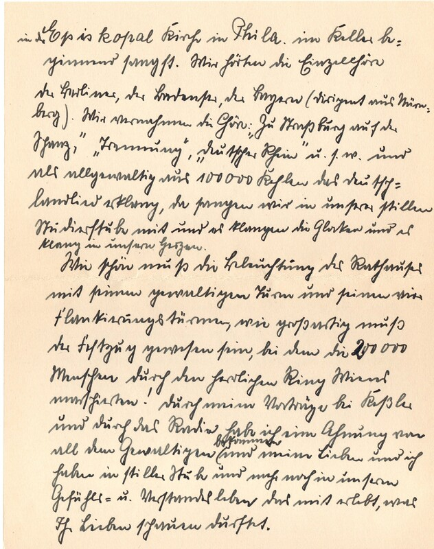 Eugen and Lisbeth Haas to Eugen Klee, July 23, 1928, p. 4