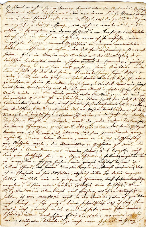 Theodor Engelmann to Margarethe Hilgard, January 20, 1836, p. 3