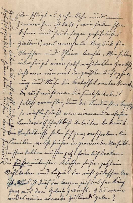 Lenchen Cherdron to Eugen Klee, November 24, 1922, p. 4