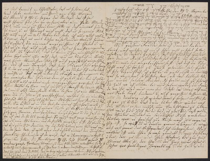 Lina Hansen to Marie Hansen Taylor, November 29, 1860