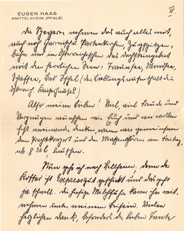 Eugen and Lisbeth Haas to Eugen Klee, July 17, 1928, p. 7