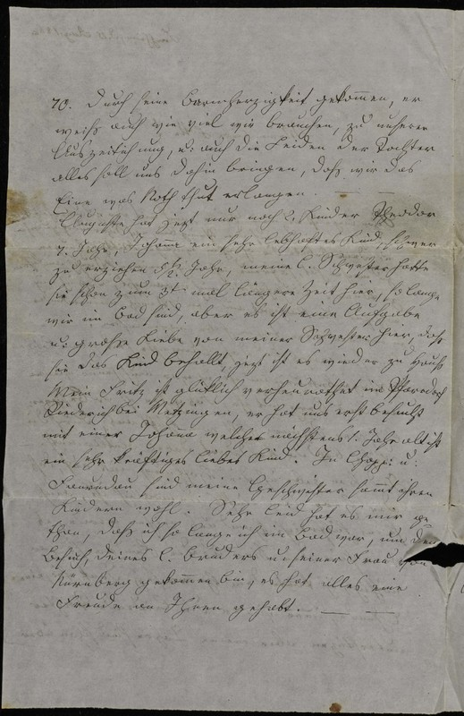 Hofeln family letter, August 15, 1868, page 2