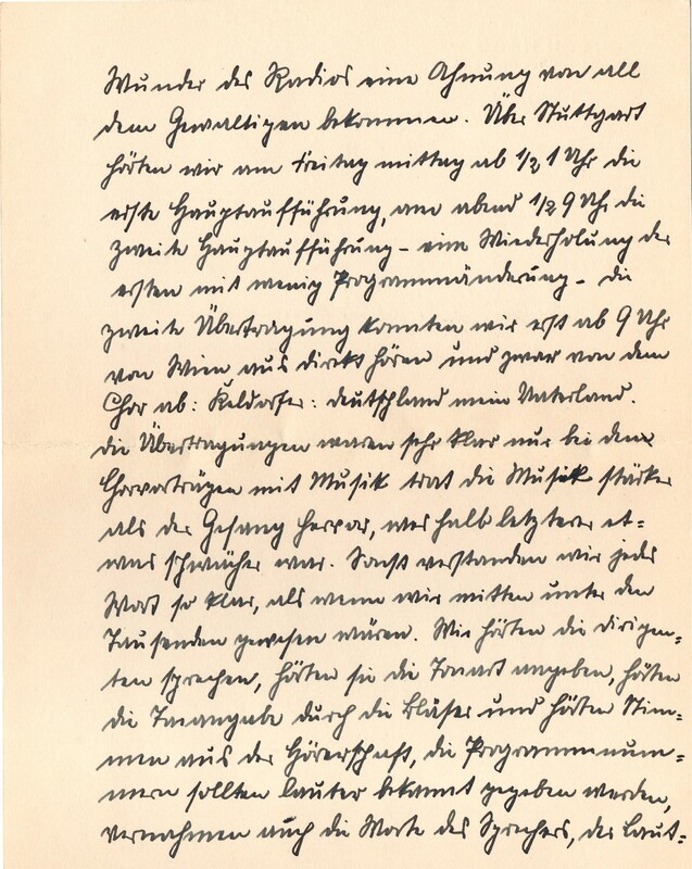 Eugen and Lisbeth Haas to Eugen Klee, July 23, 1928, p. 2
