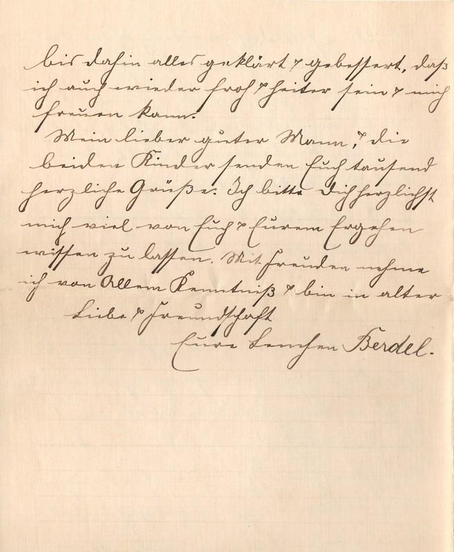 Lenchen Berdel to Eugen Klee, August 6, 1919, p. 12