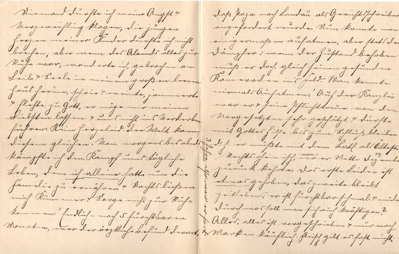 Lenchen Berdel to Eugen Klee, August 6, 1919, p. 6 and p. 7