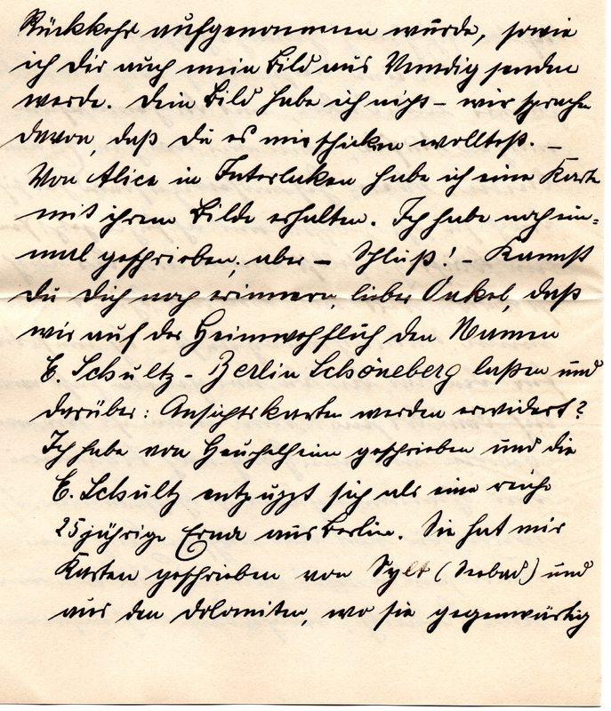 Eugen Haas to Eugen Klee, September 23, 1911, page 3