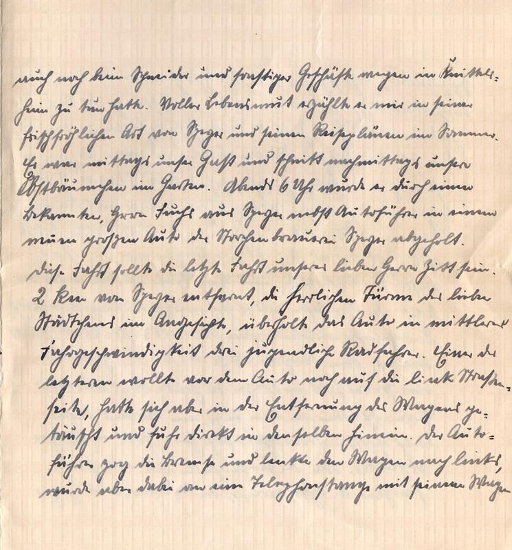 Eugen and Lisbeth Haas to Eugen Klee, April 13, 1926, p. 3