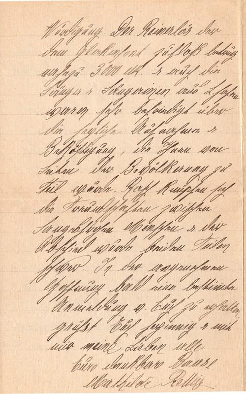 Mathilde Rettig to Eugen Klee, June 9, 1921, p. 4