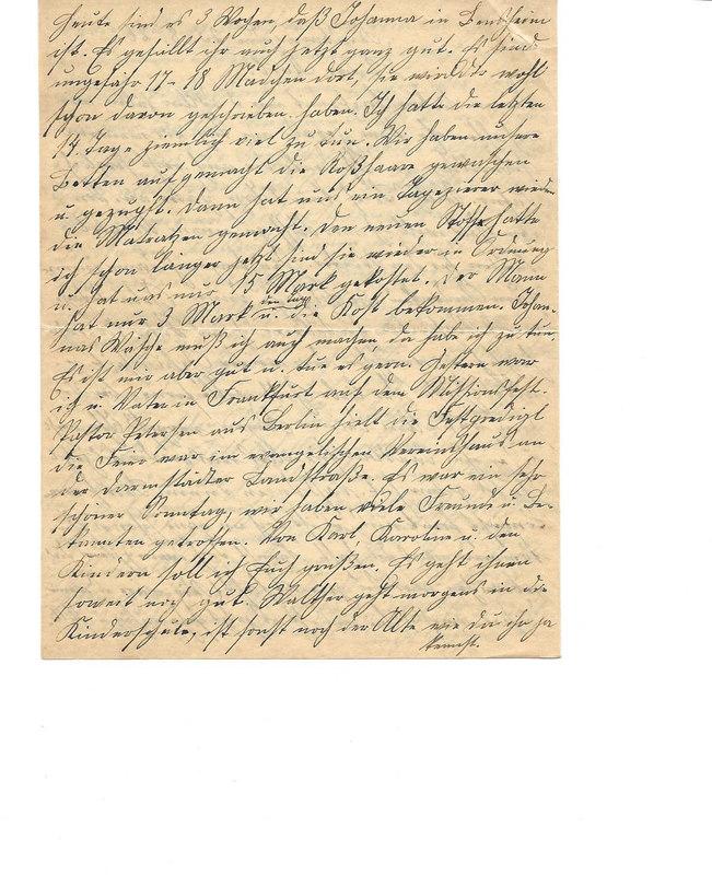 Caroline Emmel to Karl Emmel, August 23, 1926, p. 2