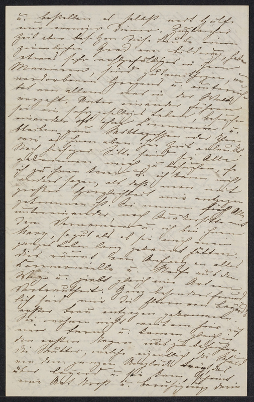Marie Hansen Taylor to Lina Hansen, November 3, 1858, p. 4